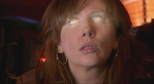 The Doctor-Donna, the first of the Human Timelords from BBC's 'Doctor Who'.   Her creation came about as a result of a two-way biological metacrisis, with Donna becoming part-Gallifreyan during the process.
